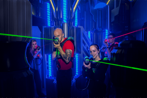 Laser Tag Teen Parties