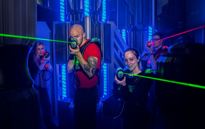 Fun Center Laser Tag Wilsonville