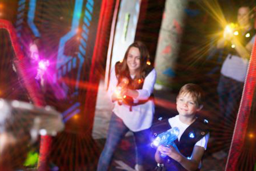 Unlimited Laser Tag & Go Karts & More with the Bullwinkle's