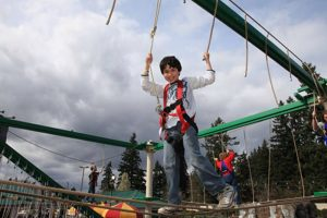 Sky Trail Ropes Course | Family Fun Center & Bullwinkle's Restaurant - Wilsonville, OR