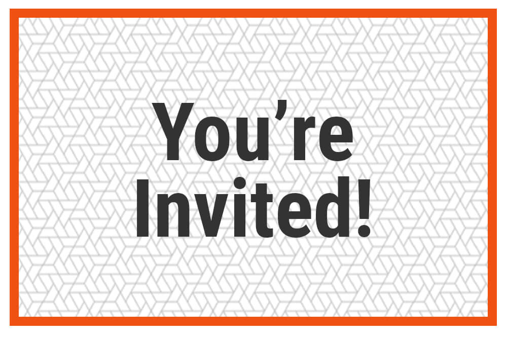 You're Invited image for invitations