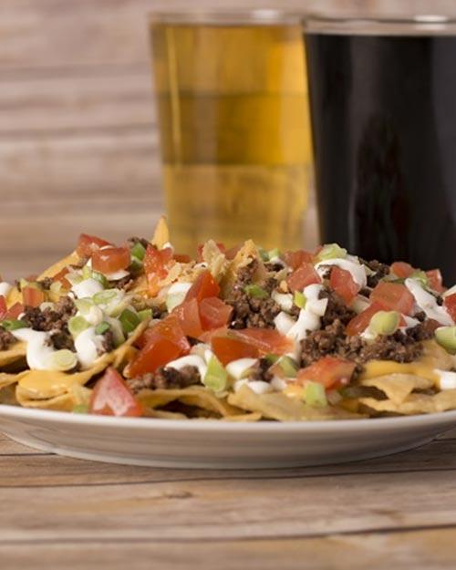 Food & Drink - Nachos & beer